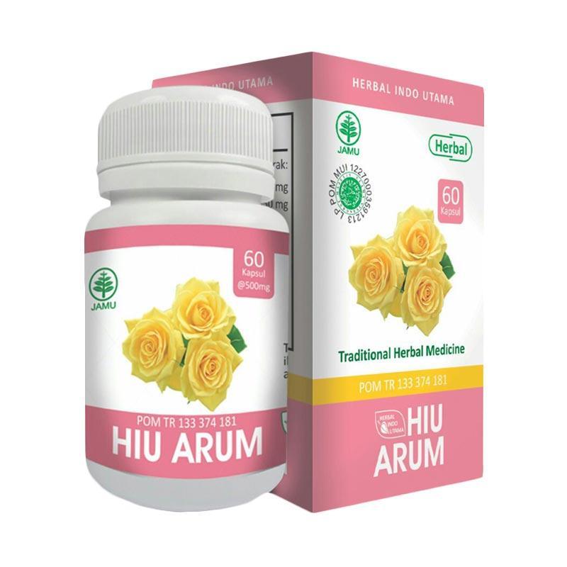 HIU Arum Supplement Herbal Untuk Bau Badan  [60 Cpas]