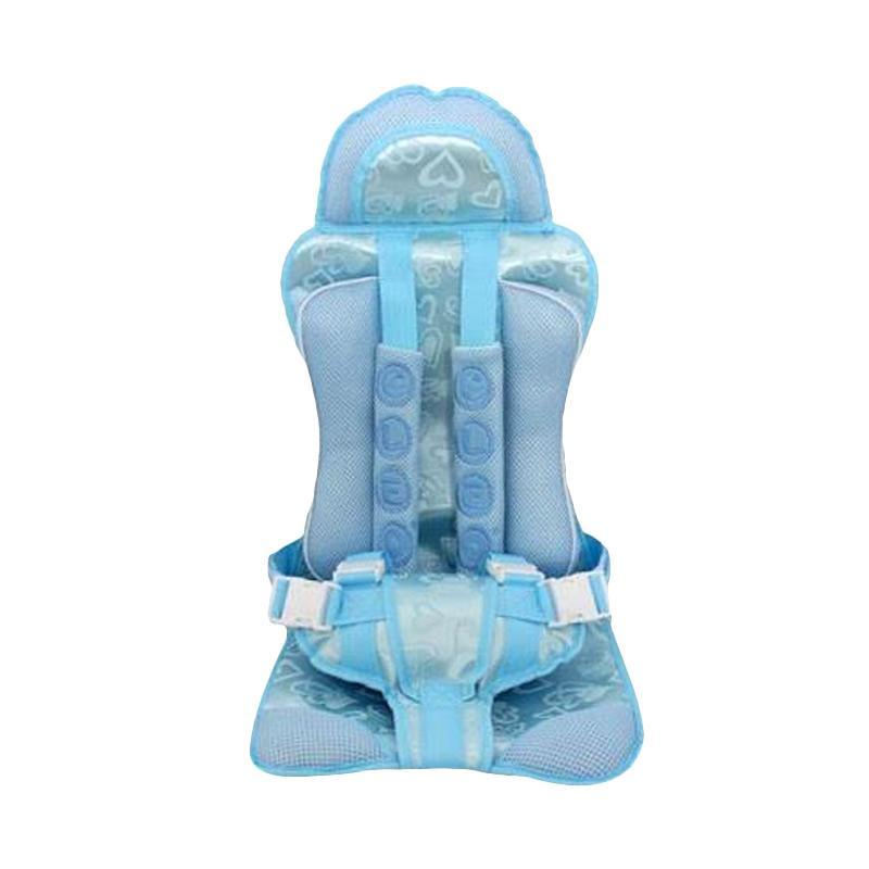 harga Cleo Portable Car Seat Kursi Bayi - Blue Blibli.com