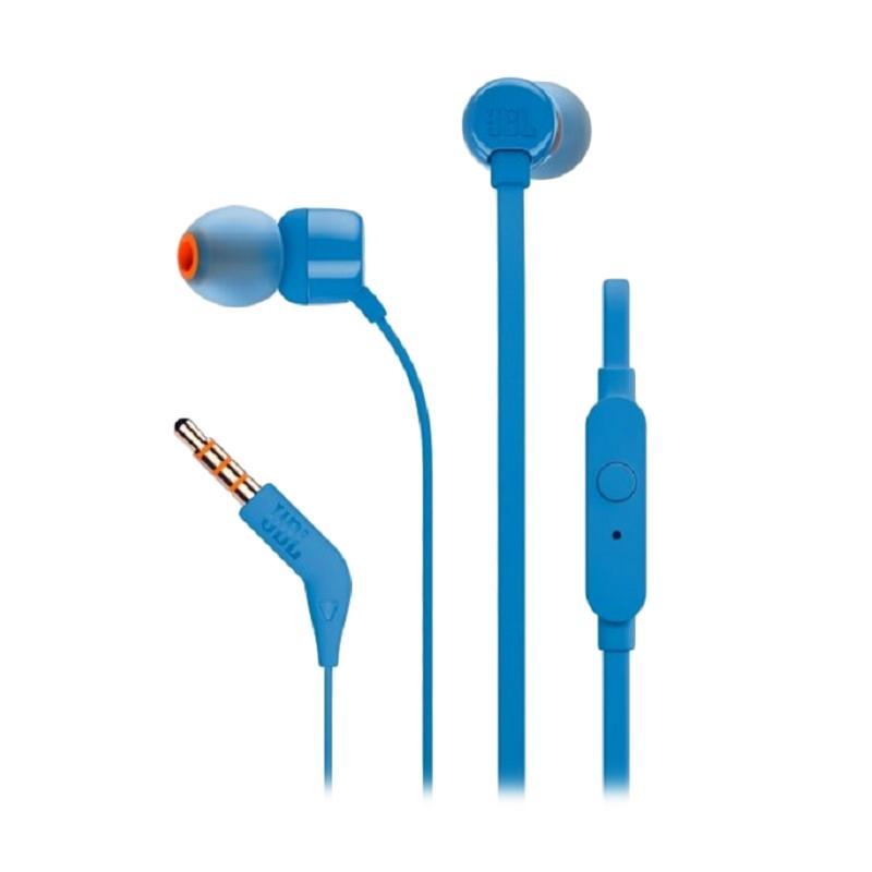 JBL T110 Headset - Biru