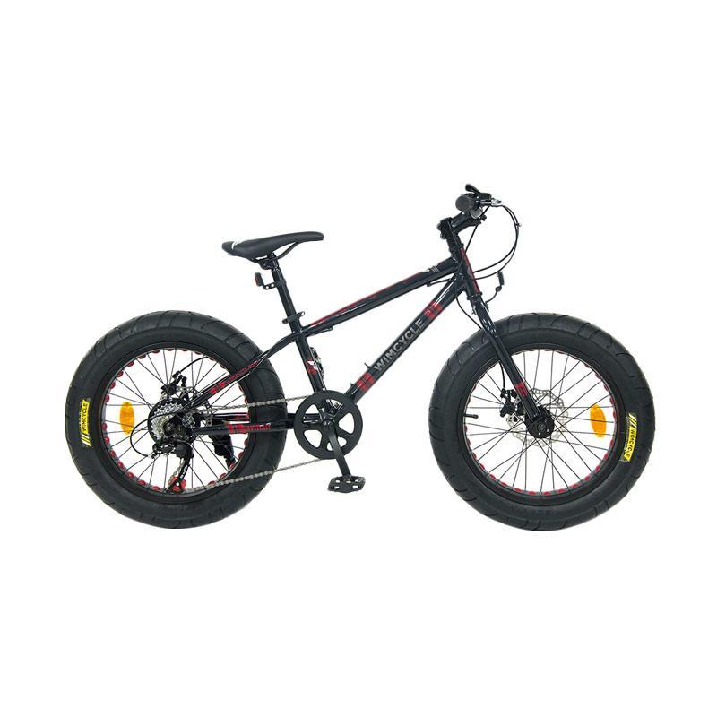 harga WIMCYCLE Fatman Kids Sepeda Gunung Blibli.com