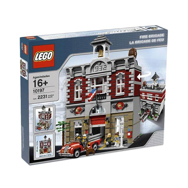 LEGO 10197 Fire Brigade Mainan Blocks & Stacking Toys