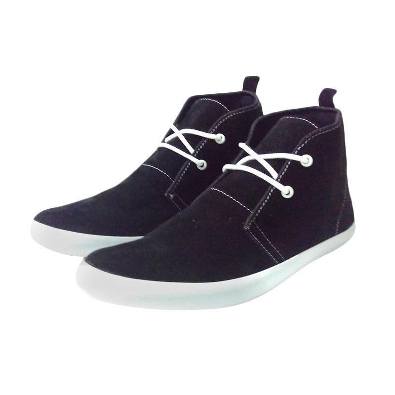 Zaeda Shoes Falko Sepatu Pria - Black
