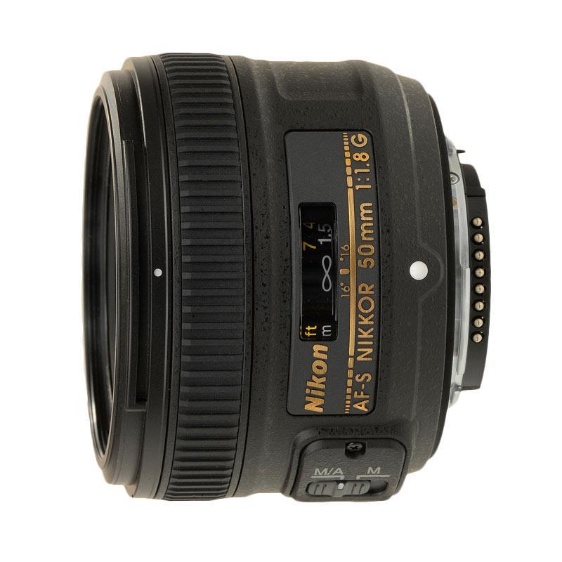 harga Nikon AF-S 50mm f/1.8G Lensa Kamera Blibli.com