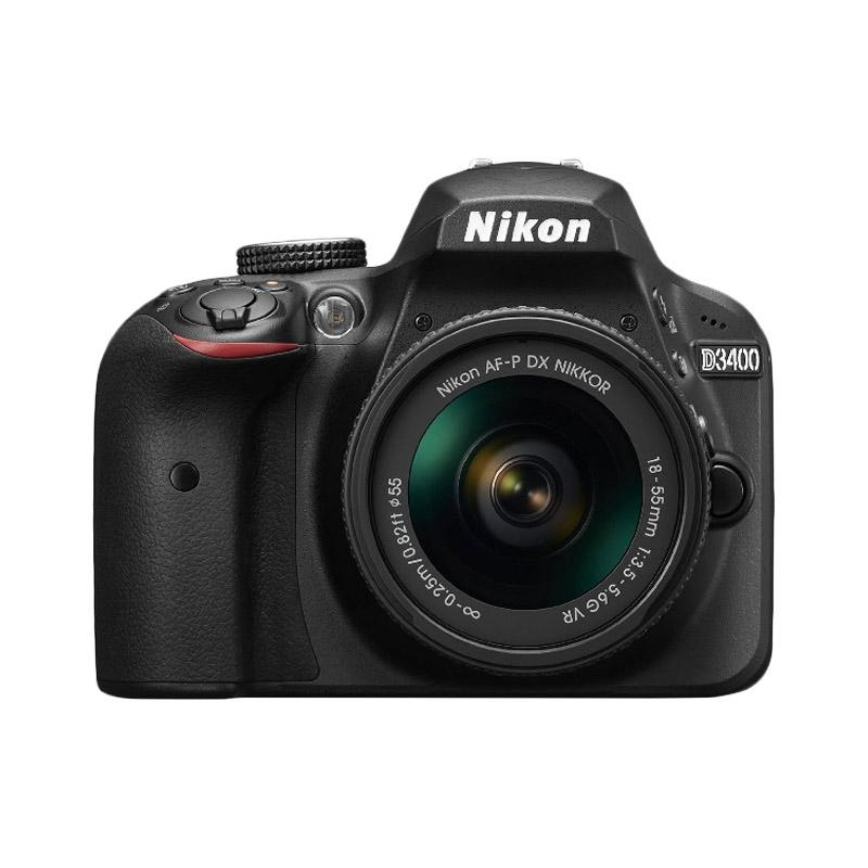 Nikon D3400 18-55mm VR Kamera DSLR - Black