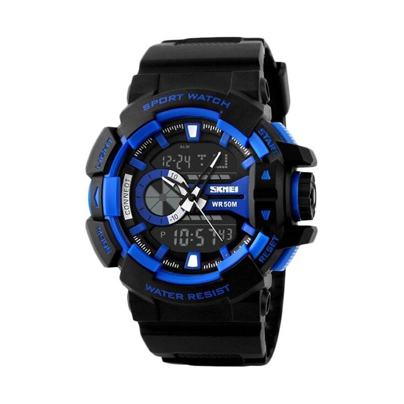 SKMEI 1117 Jam Tangan Pria - Black Blue