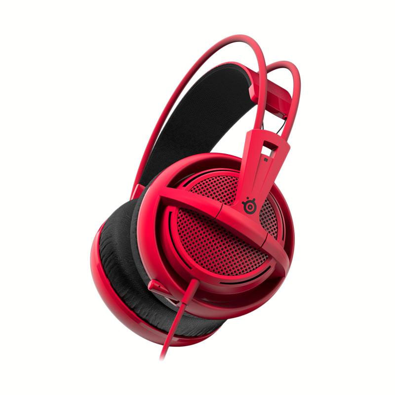 SteelSeries Siberia 200 Gaming Headset - Red