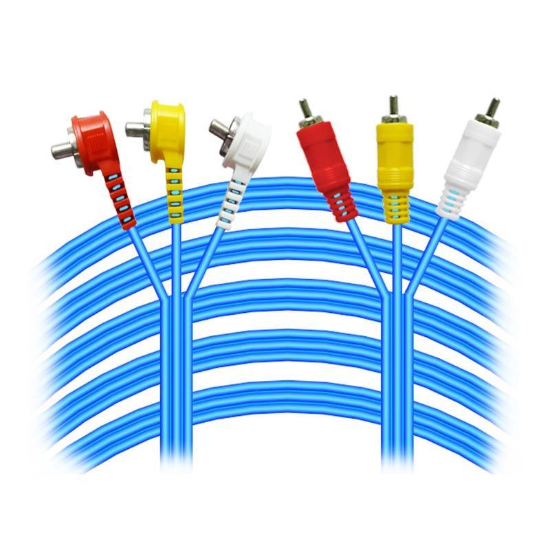 Kitani Kabel RCA 3-3 [10 M]