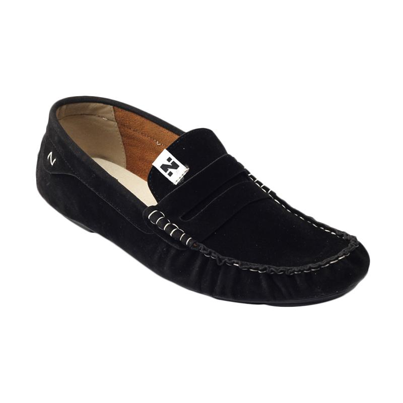 Navara Sean Sepatu Pria - Black