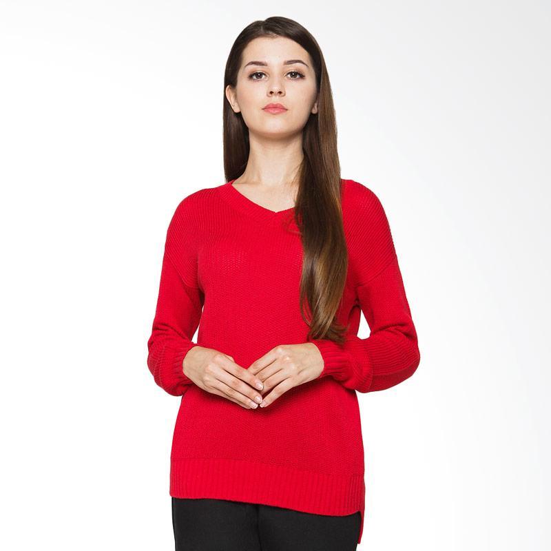 Veyl Jane Sweater - Red