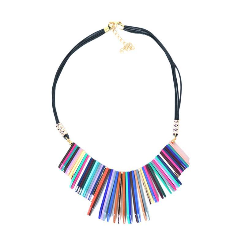 Momy Ribbon Bar Necklace