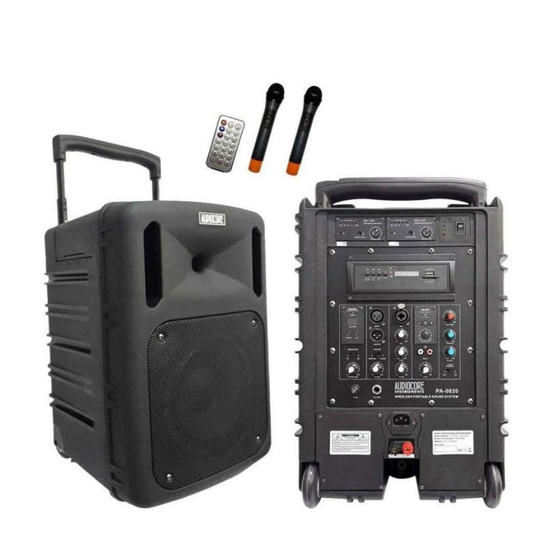 harga Audiocore PA-0820 Portable Wireless Meeting [8 Inch] Blibli.com