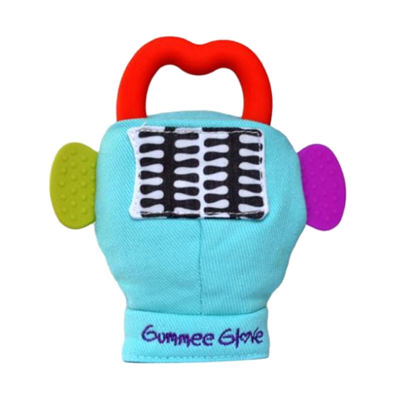 Gumme Glove Mainan Bayi - Blue