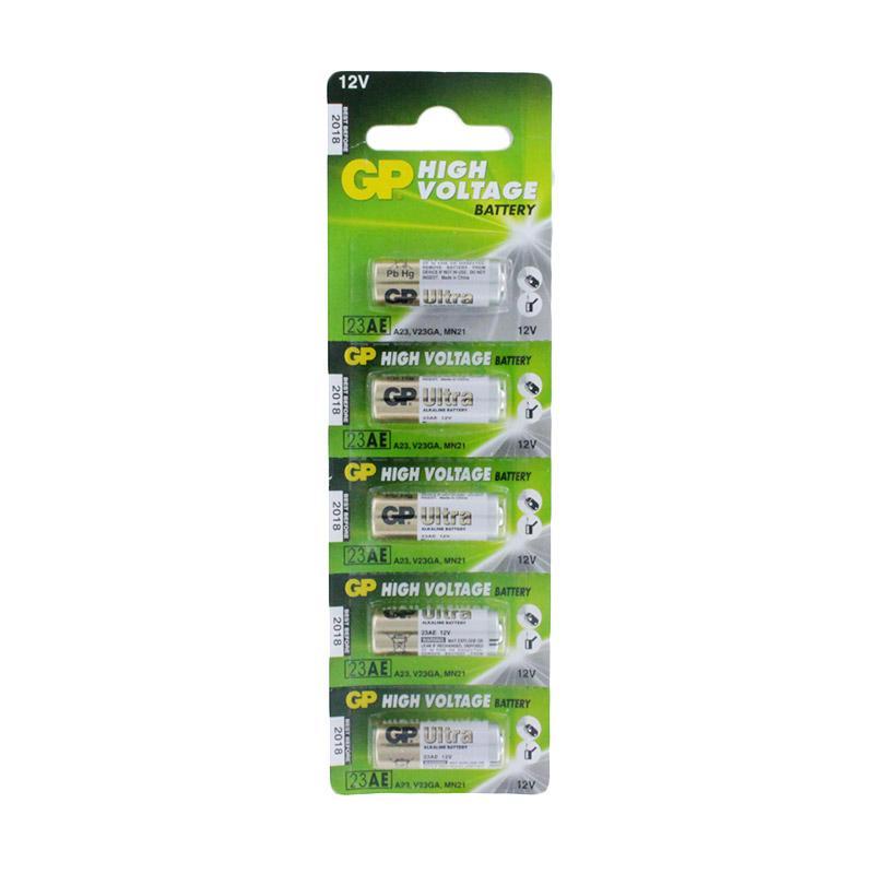 GP Batteries 23A Baterai (isi 5pcs ) Remote Mobil