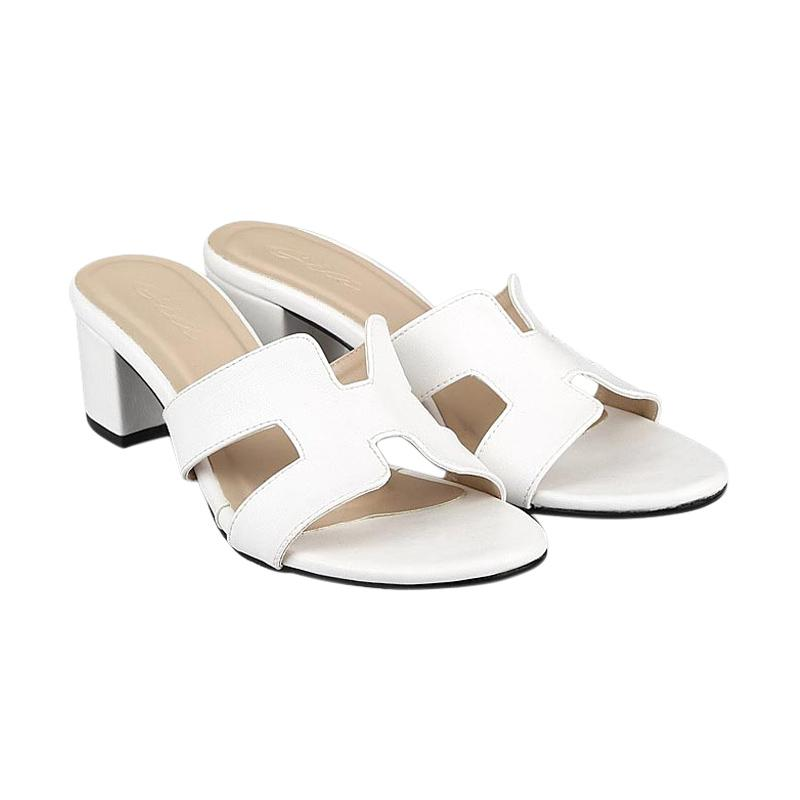 GIA Heiress Heels White