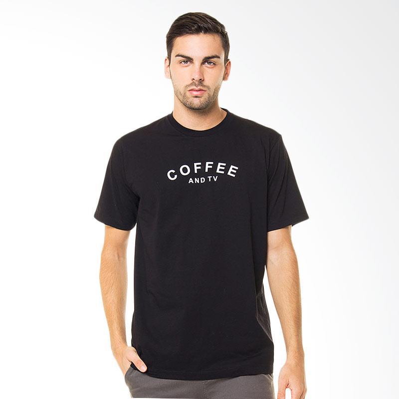 Sins Coffee And TV T-Shirt - Black Extra diskon 7% setiap hari Extra diskon 5% setiap hari Citibank – lebih hemat 10%