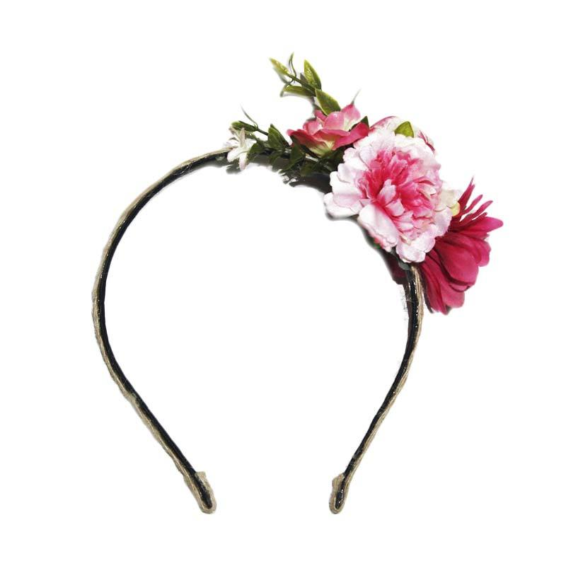 Enandem Floral Bando - Pink