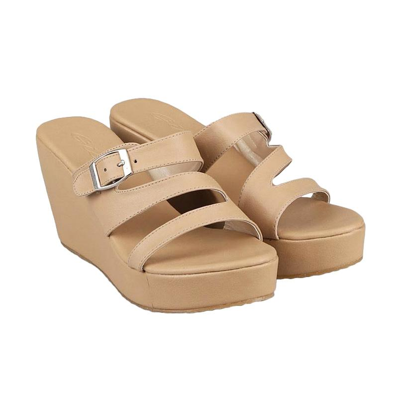GIA Parker Wedges Tan
