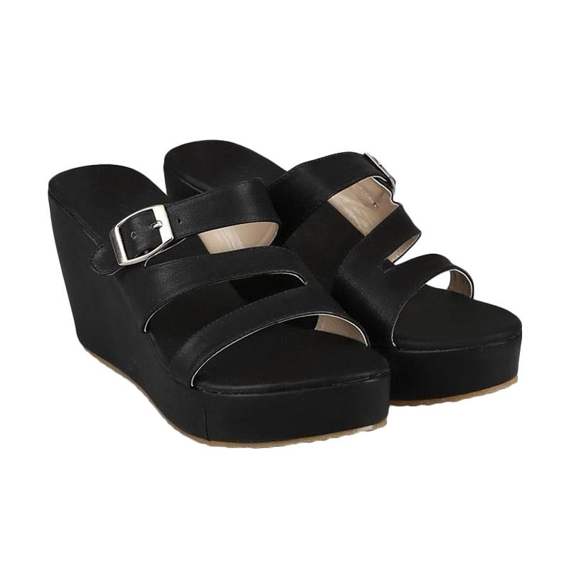 GIA Parker Wedges Black
