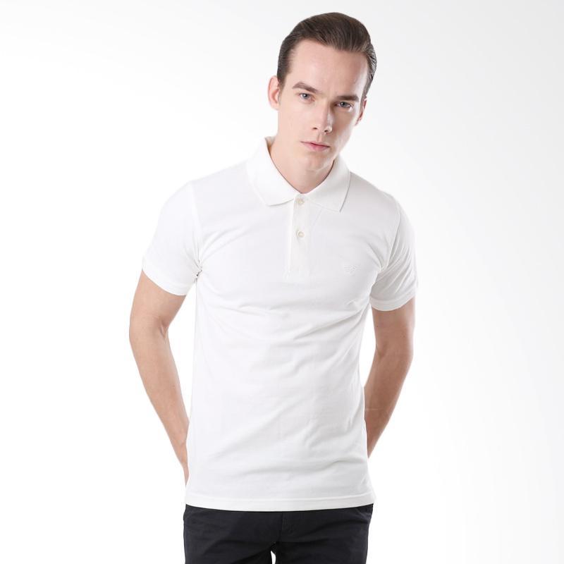 Efesu Polo Shirt - White Extra diskon 7% setiap hari Extra diskon 5% setiap hari Citibank – lebih hemat 10%