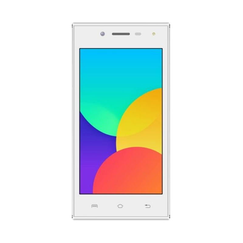 Lava Iris 750 Smartphone - Putih [8 GB/1 GB]