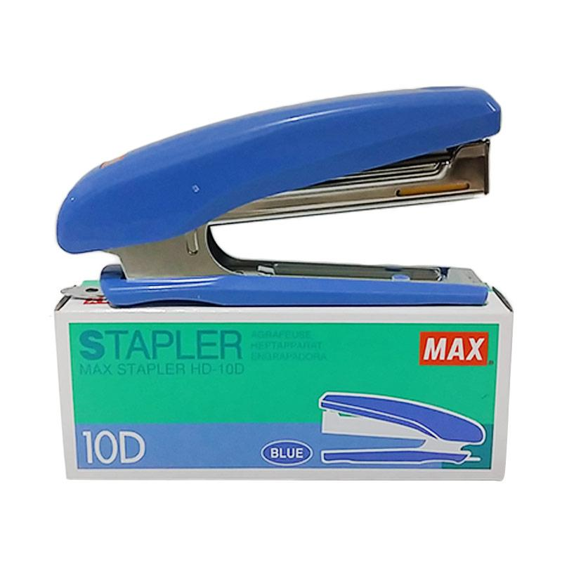 harga Max HD 10 D Stapler - Blue Blibli.com