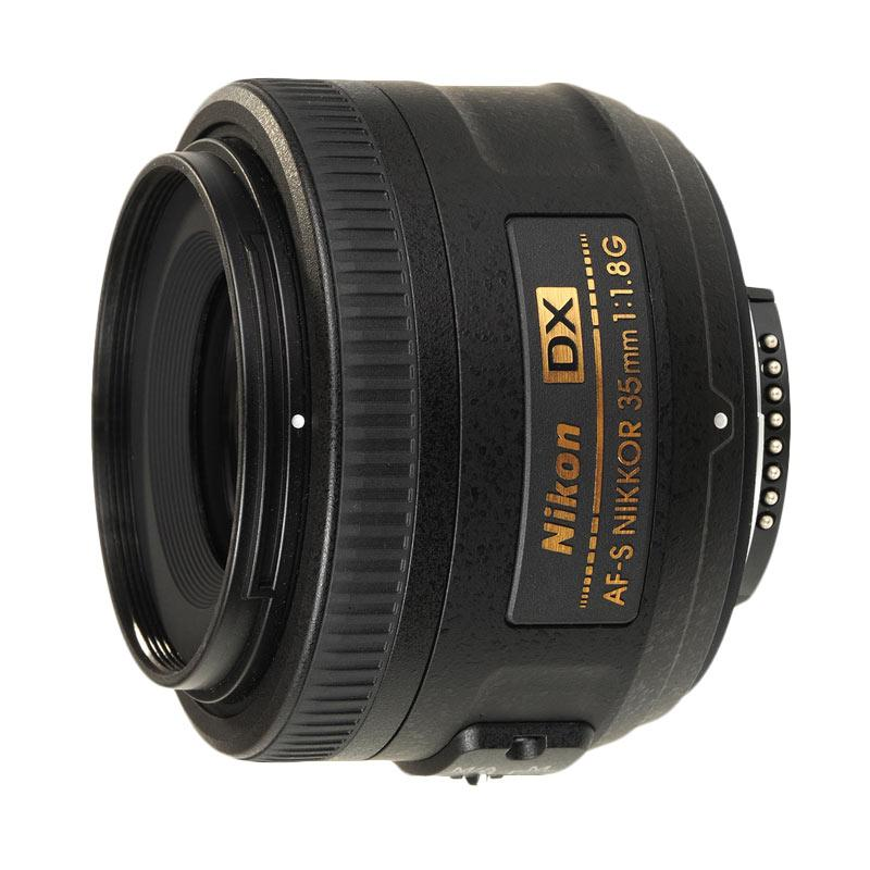 Nikon AF-S 35mm f1.8G DX Lensa Kamera ( RESMI PT Alta Nikindo )