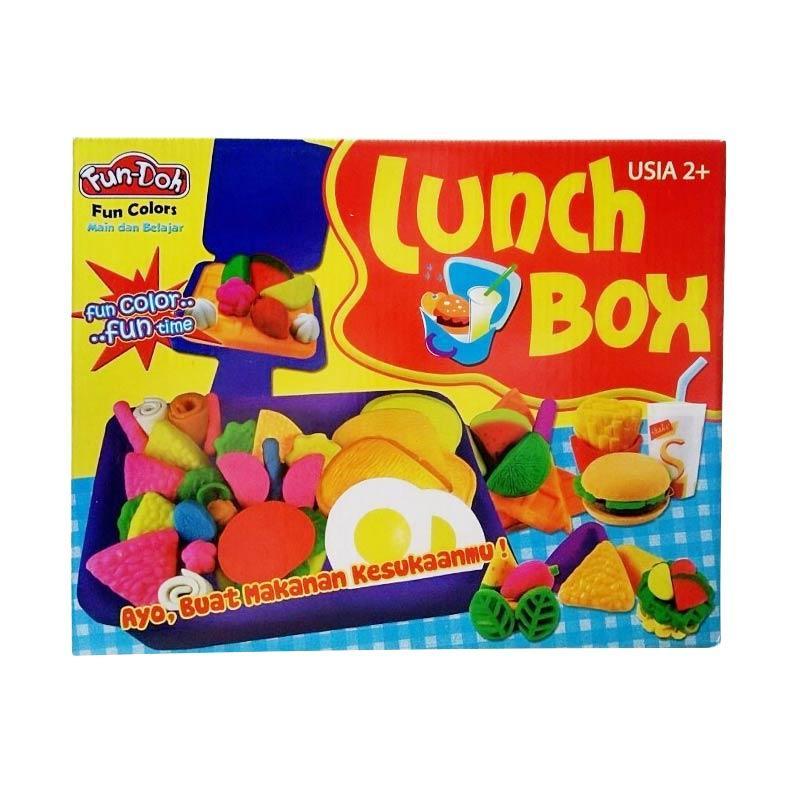 Fun doh Lunch Box Mainan Anak
