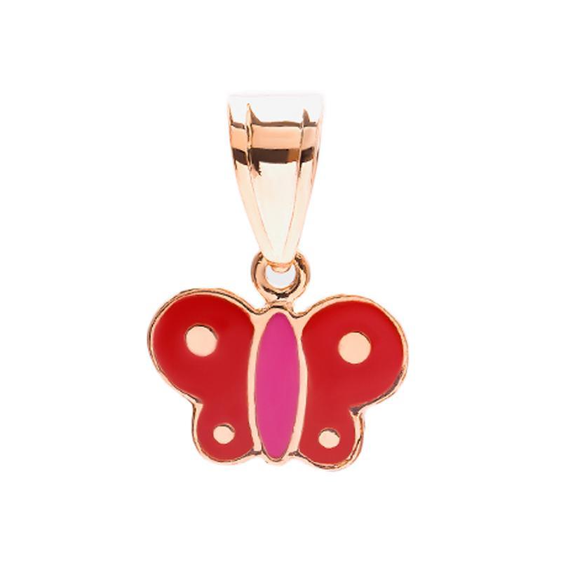 Butterfly Gold Kids Pendant - Liontin Emas Anak Kadar 37,5
