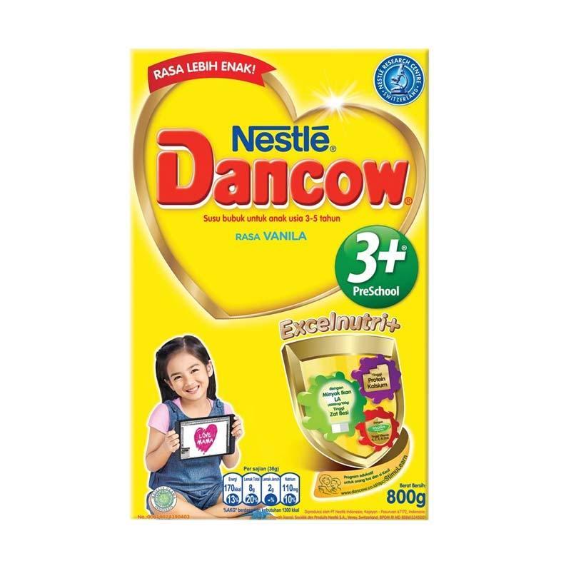 Dancow 3+ Vanilla Susu Formula [800 gr]