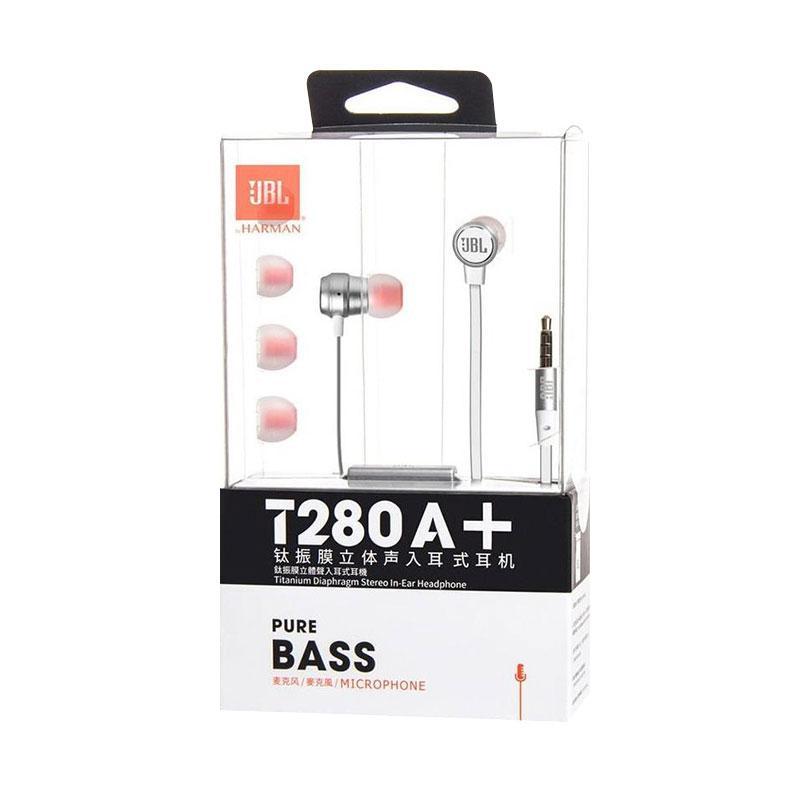 JBL T280A+ Headset - Silver