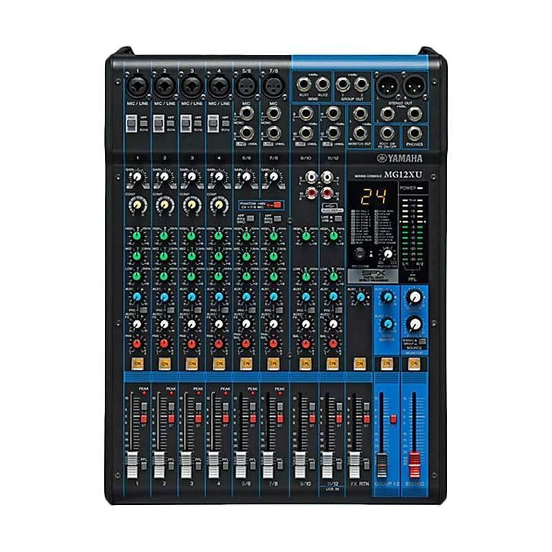 harga Yamaha MG 12XU Mixer Blibli.com