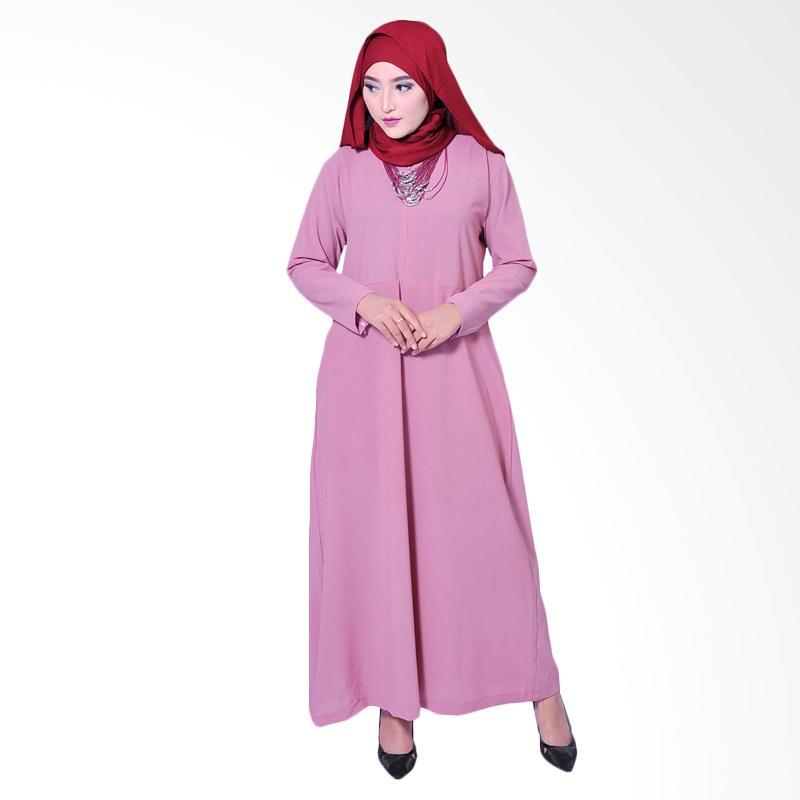 Zea Basic Fatma Dress Muslim - Pink