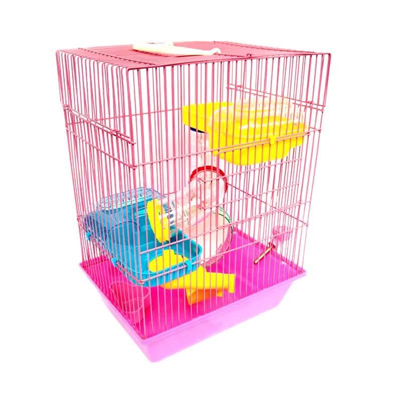 harga WYD Kandang Hamster - Pink Blibli.com