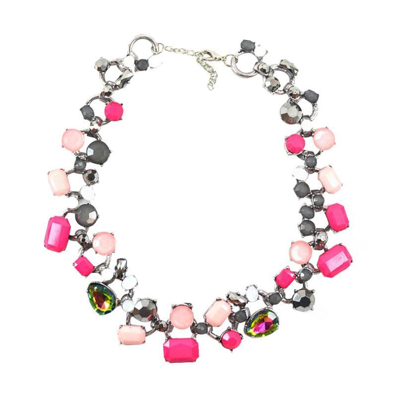 Momy Ribbon Amber Necklace