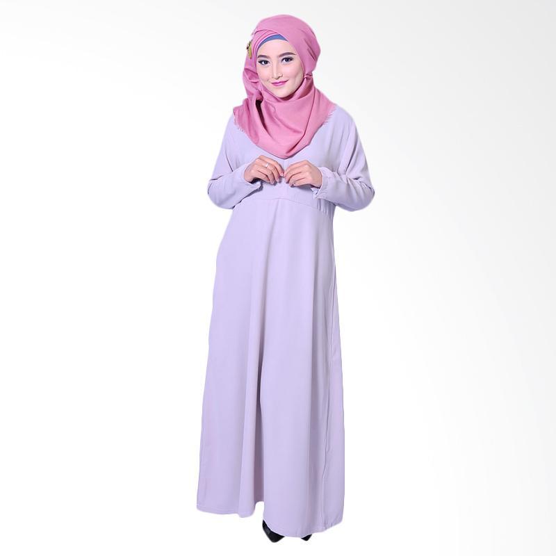 Zea Basic Fatma Dress Muslim - Grey