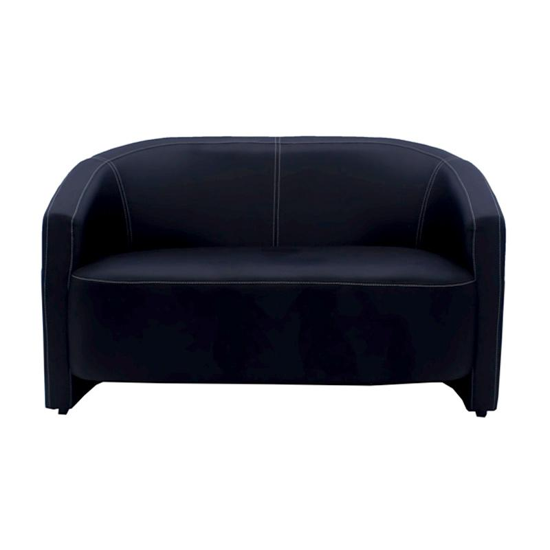 Aim Living Cole 2 Seat Sofa - Hitam