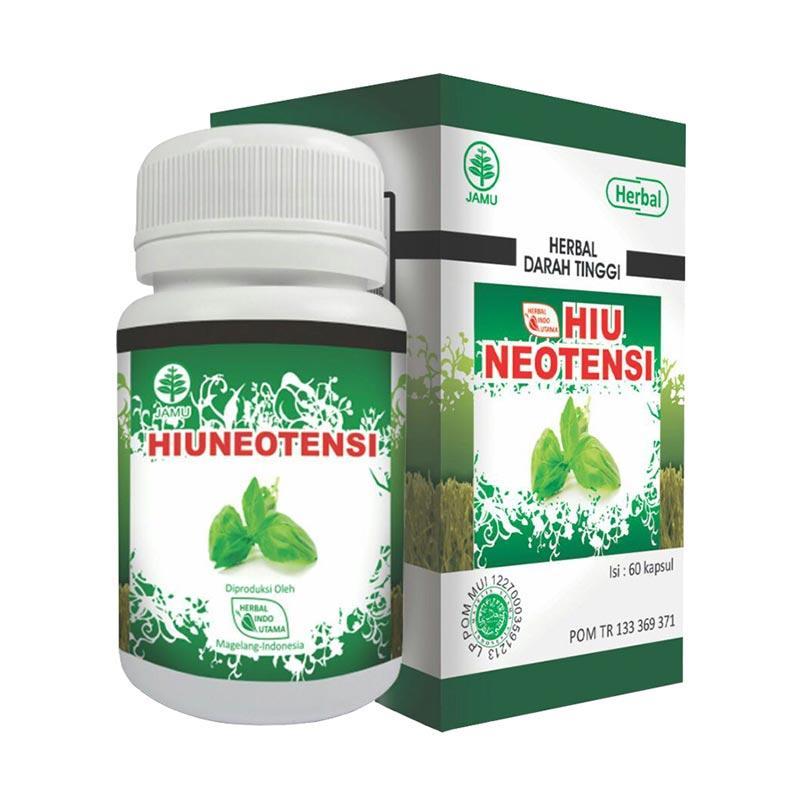 HIU Neotensi Herbal Untuk Darah Tinggi