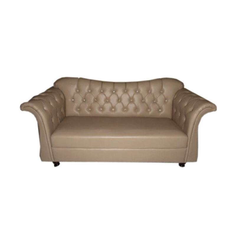 Aim Living Fredo 3 Seat Sofa - Beige