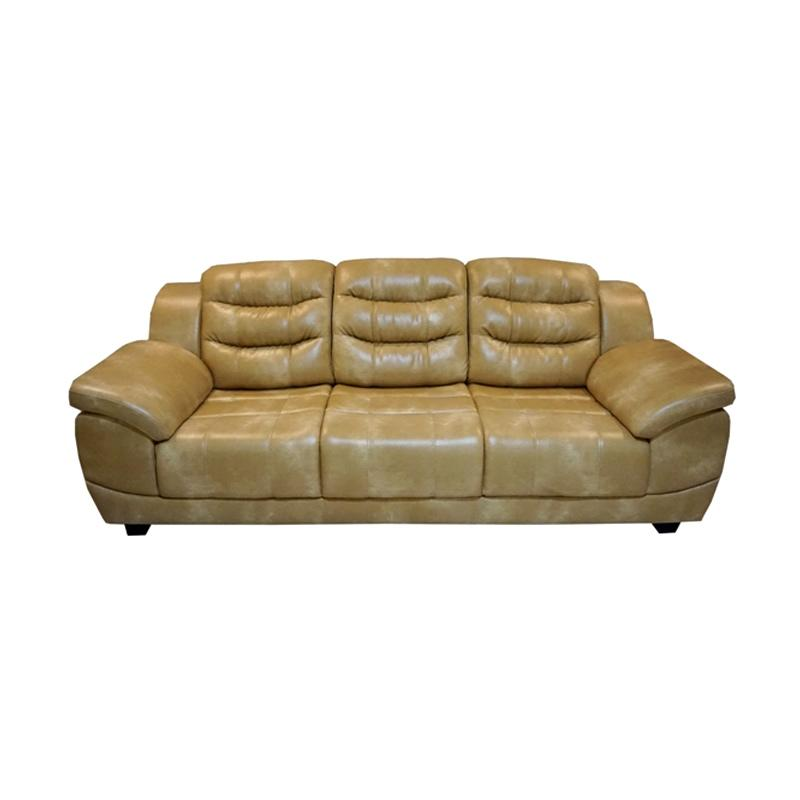 Aim Living Merci 3 Seat Sofa - Beige