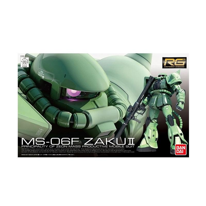 Bandai RG MS-06F Zaku II Model Kit [1:144]