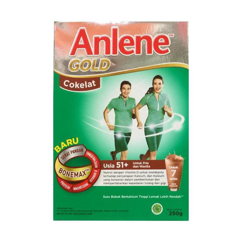 Anlene Gold 51+ Coklat [250 g]