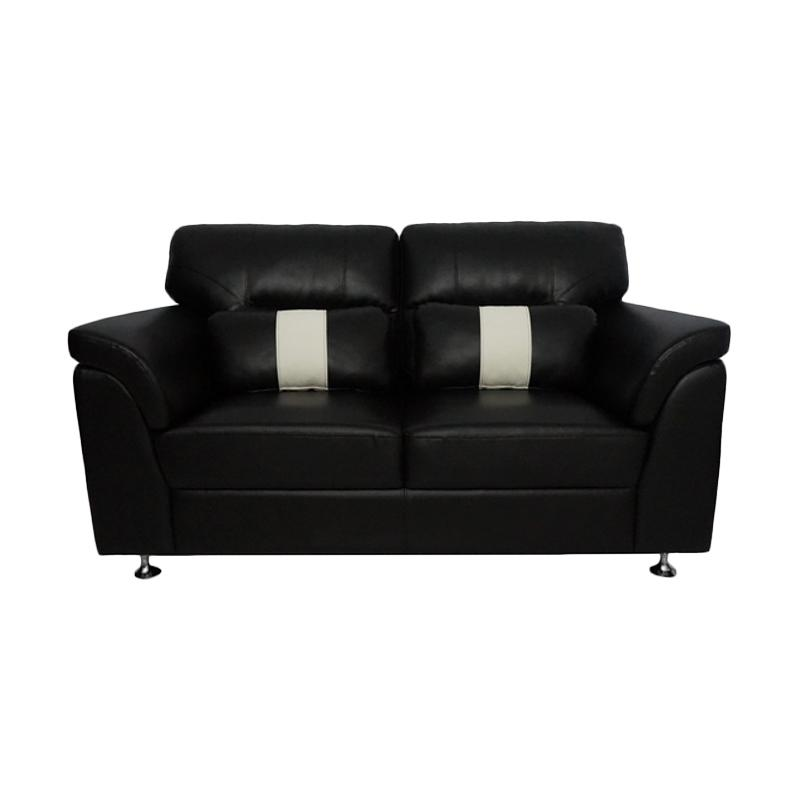 Aim Living Dakar 2 Seat Sofa - Hitam