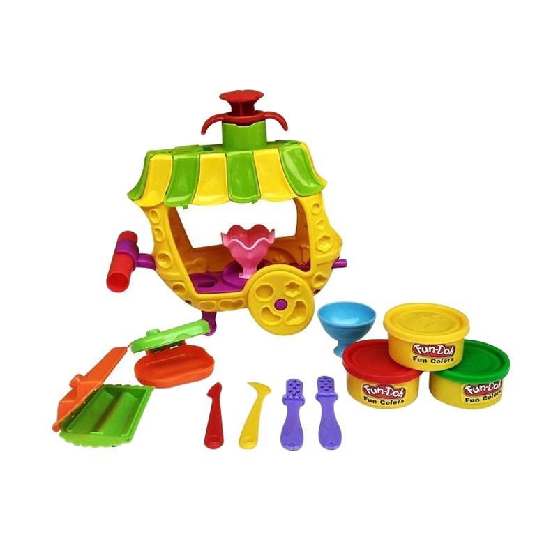Fun Doh Sundae Cart Mainan Anak