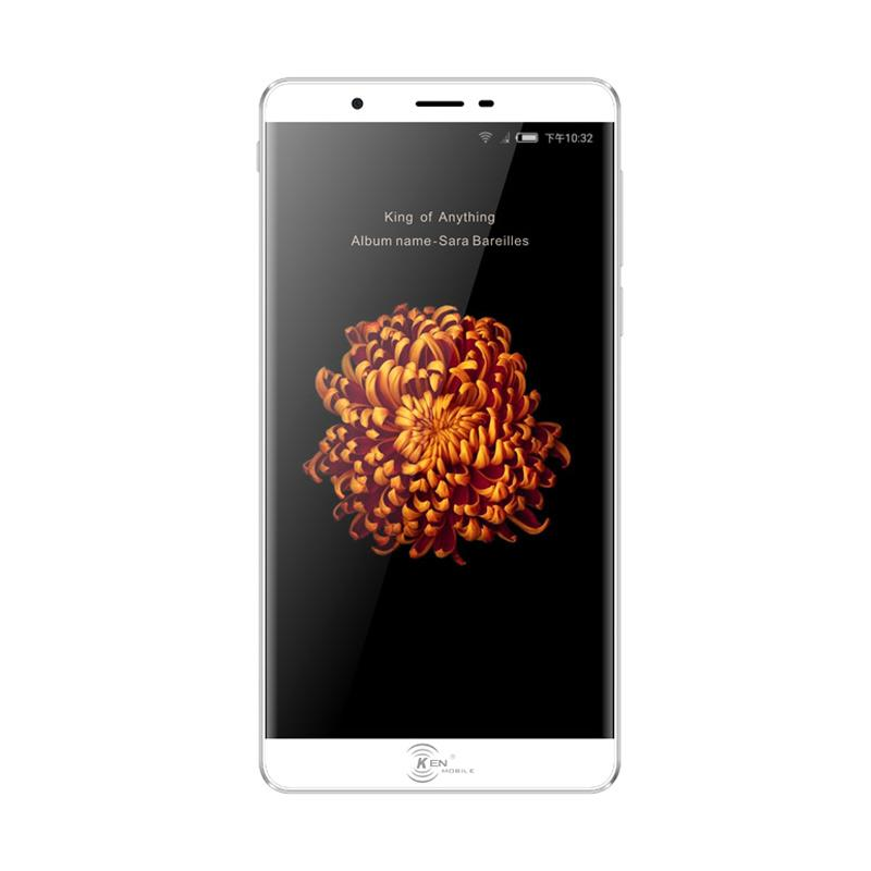 Ken Mobile V9 Smartphone - Silver [32GB/3GB]