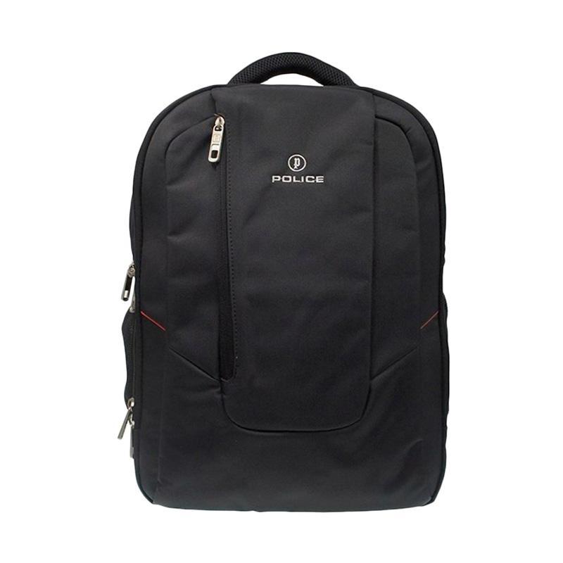 Police Backpack Tas Pria - Black 0923
