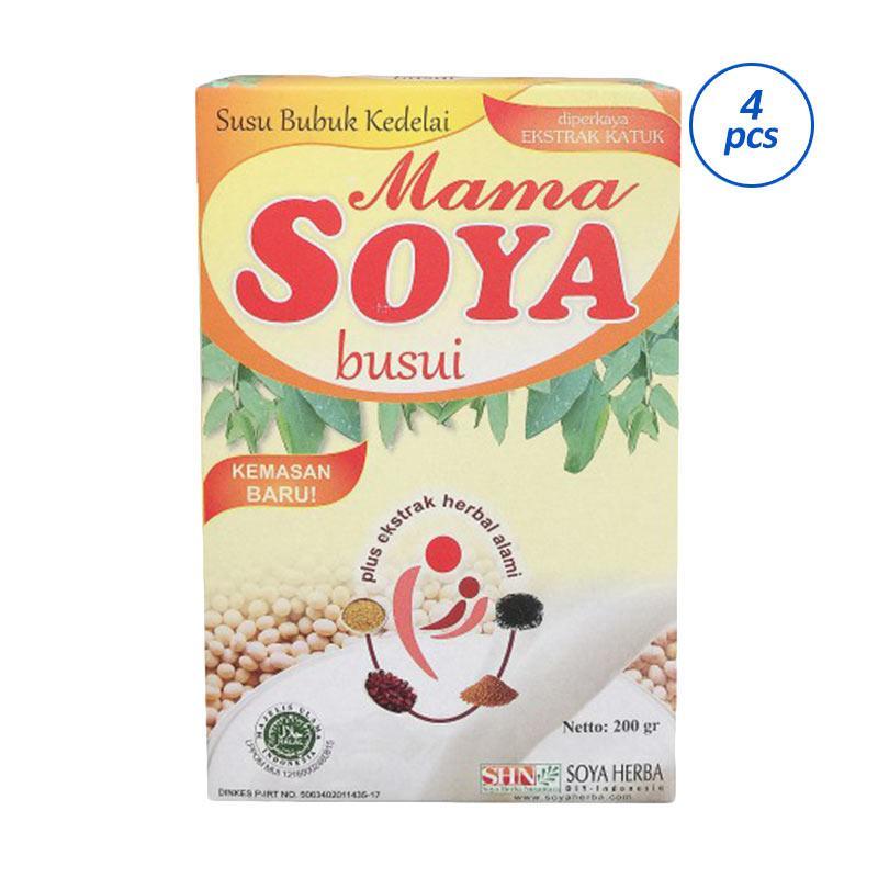 Mama Soya Nutrisi Ibu Hamil & Menyusui [200 g/4 pack]