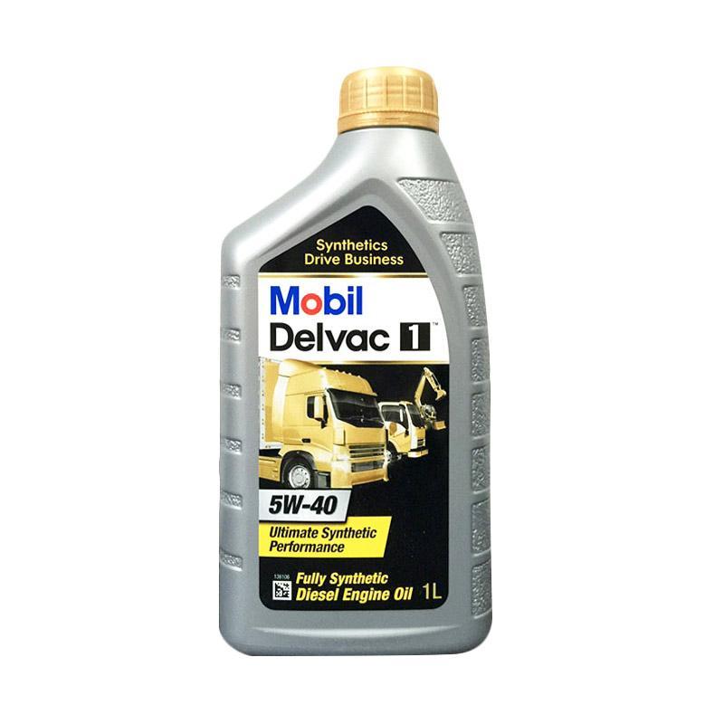 Mobil Delvac 1 5W-40 Botol