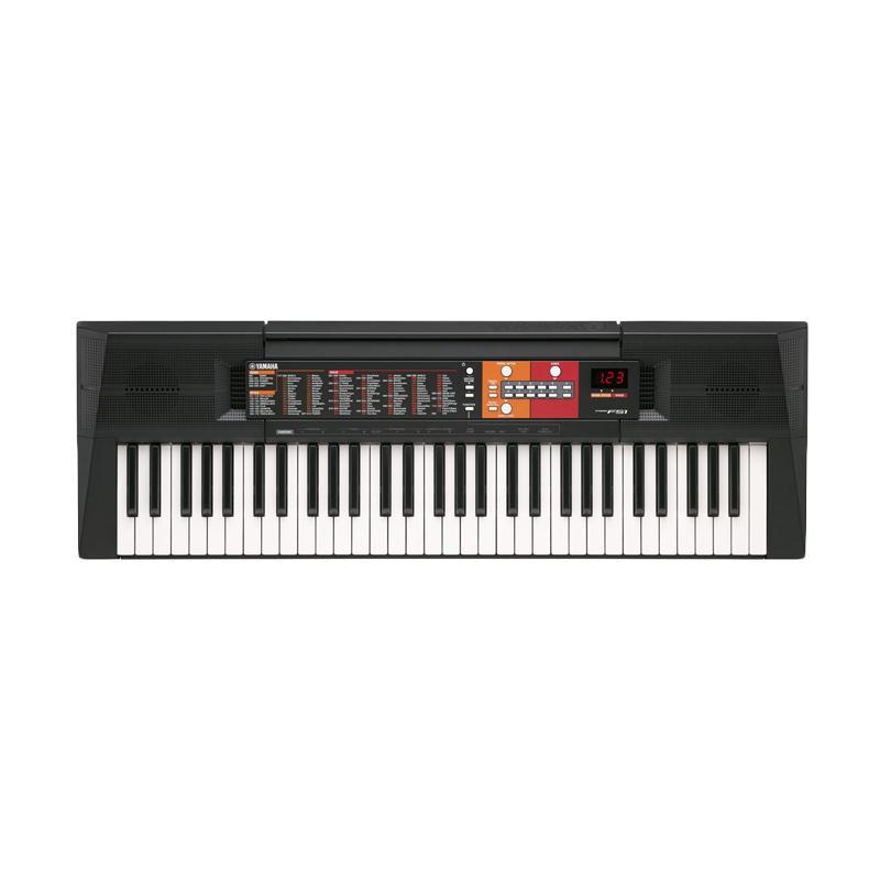 harga Yamaha PSR F51 Keyboard dan Adaptor Blibli.com
