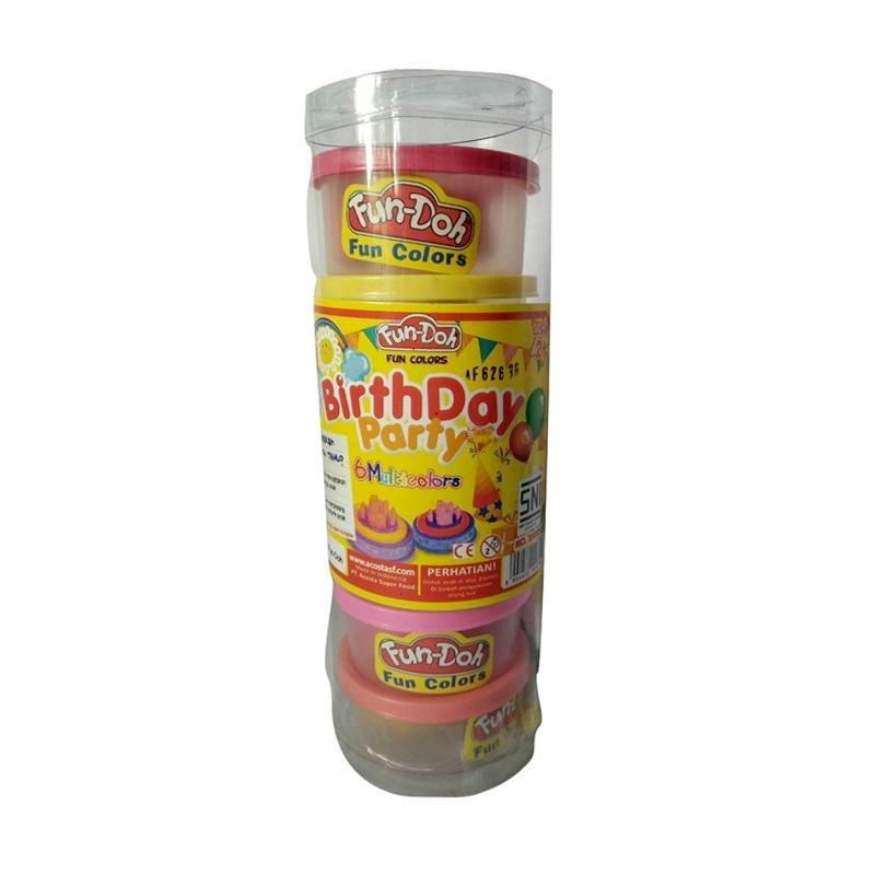 Fun Doh Refil Mainan Anak [6 Warna]