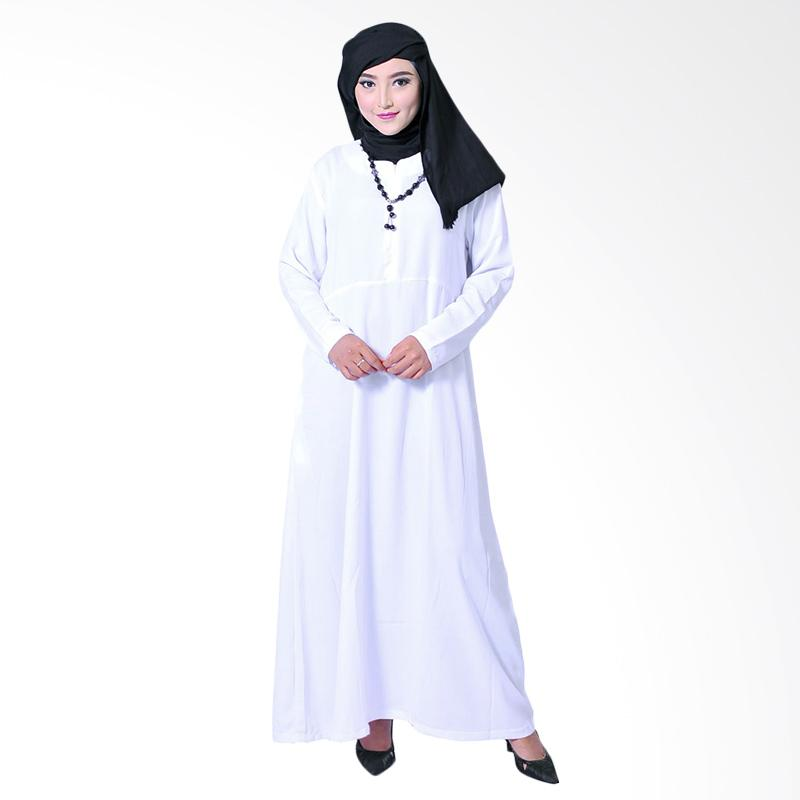 Zea Basic Fatma Dress Muslim - White